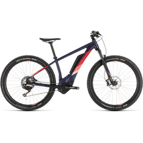 Cube Access Hybrid Race 500 E-MTB Hardtail Women purple